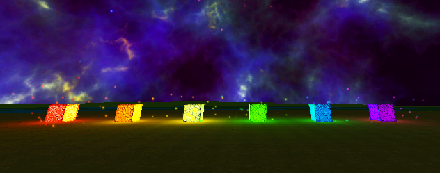 Multi-colored Glowstones in Vox-L