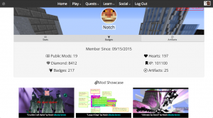 Notch User Profile